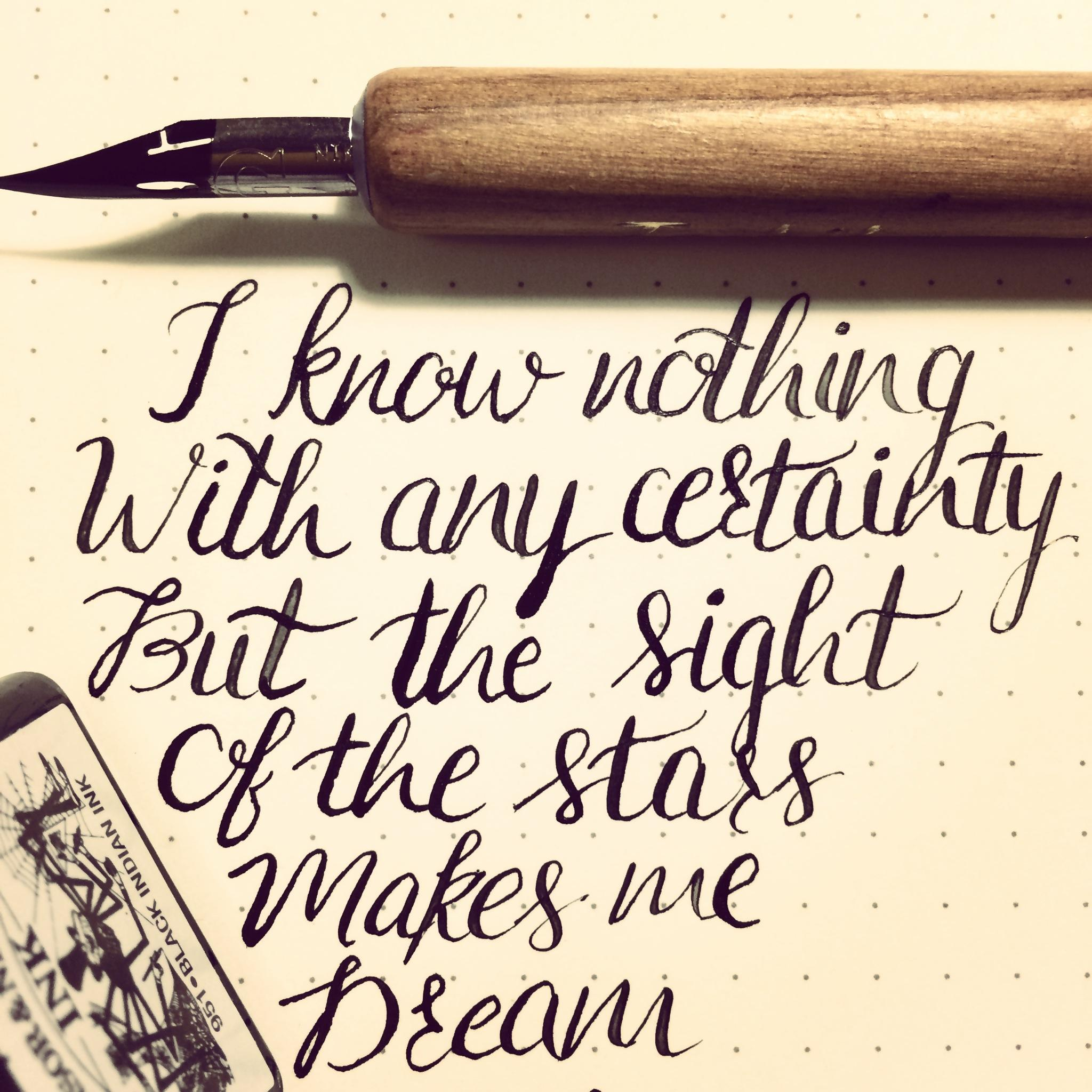 I Find The Best Way To Practice A Bunch Of Text Is Keep Writing My Favourite Quotes Van Gogh Painter All Time And This Quote