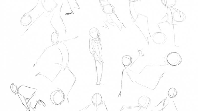 Posing Thumbnails