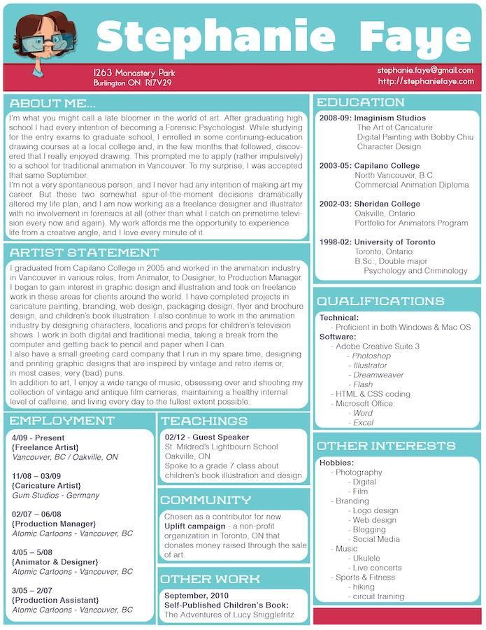 Resume Revamp | Skillshare Projects
