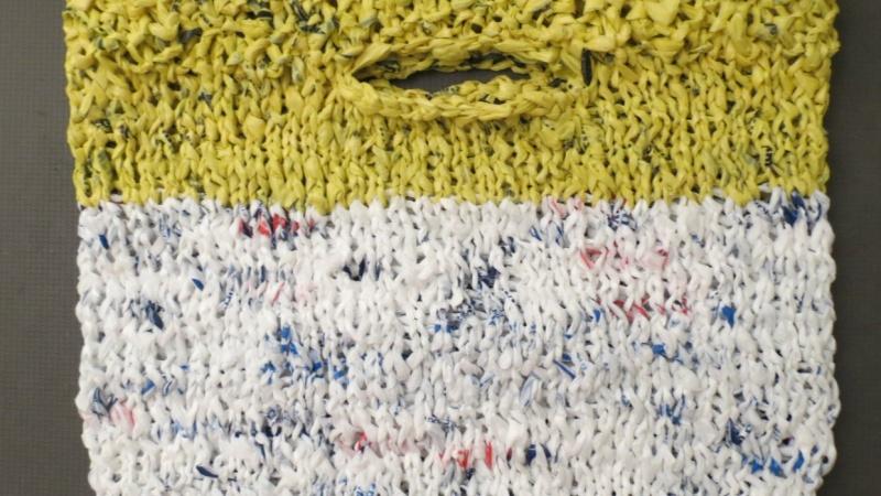 """Knitting Basics: Making Plarn"""