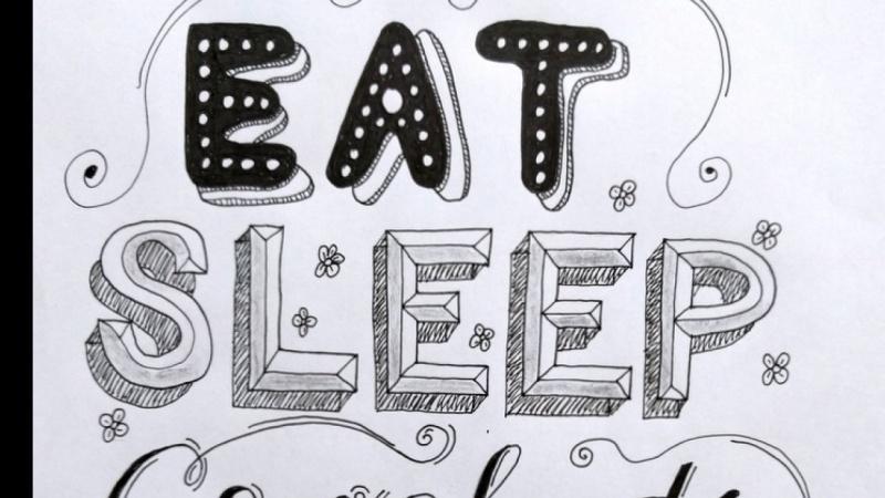 Eat Sleep Crochet Repeat