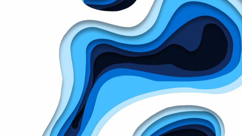 Ice Lake: Animated Layer-art