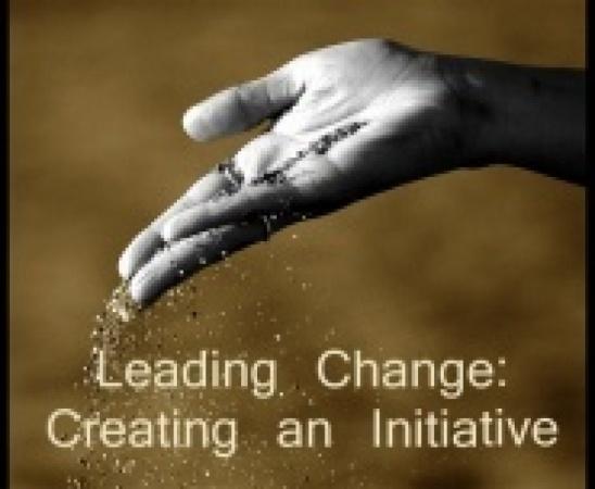 Starting an Initiative  - Idea + Project (Milestone 1)