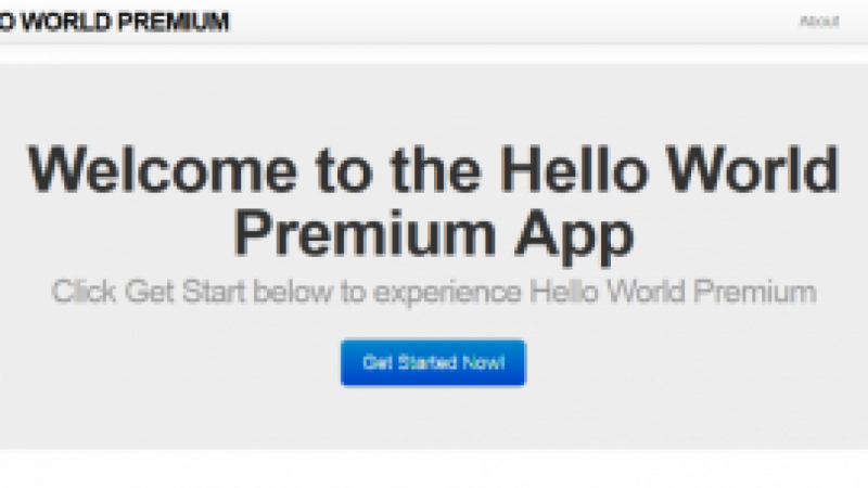 Hello World Premium