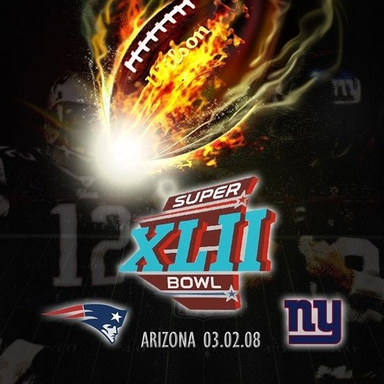 sports poster super bowl xlii how to create a cool poster in
