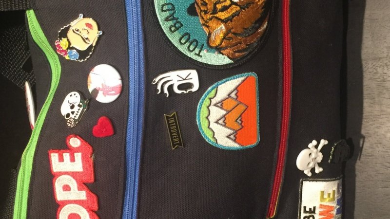 Creating a bag to showcase your patch and enamel pin