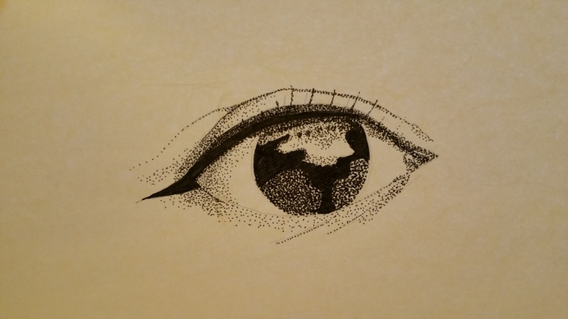 Eye stipple
