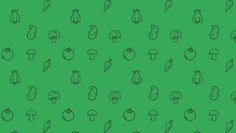 Veggies pattern