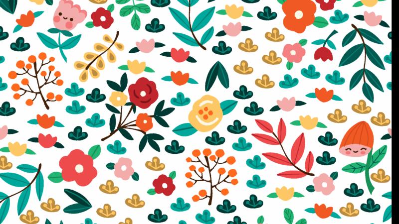 Children's Spring Floral