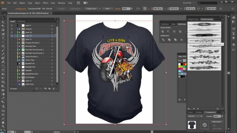 How To Photoshop T Shirt Design:  Skillshare Projectsrh:skillshare.com,Design
