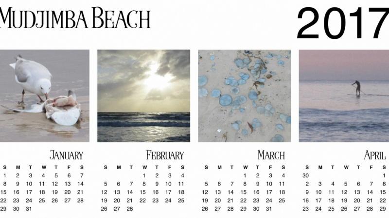 2017 Calendar - Mudjimba Beach