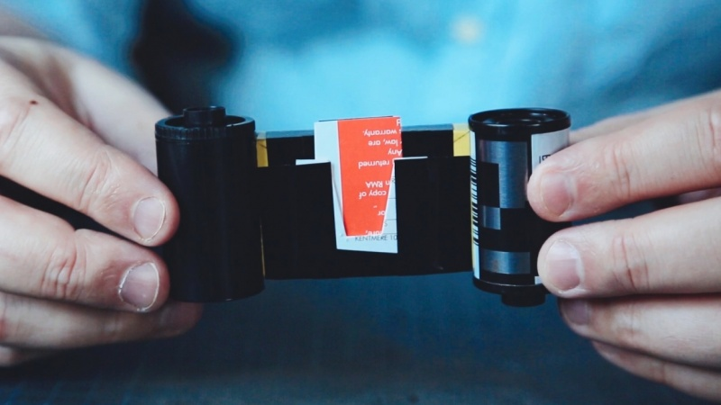 35 mm Matchbox Pinhole Camera