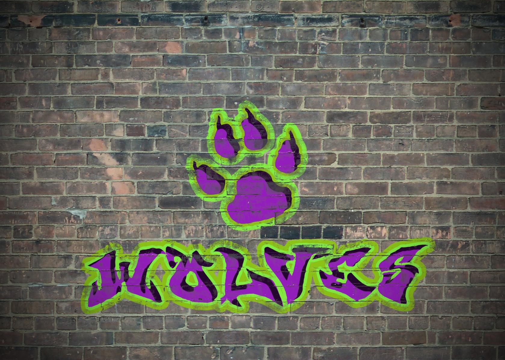 картинки с волками граффити пожелания днем рождения