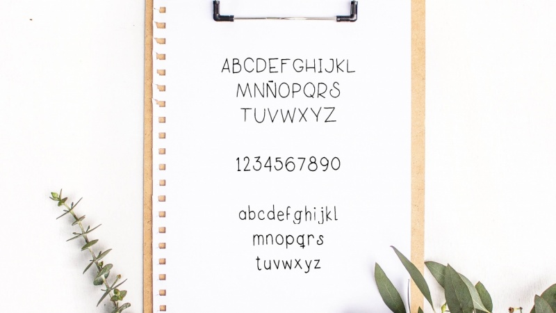 My own font!!!