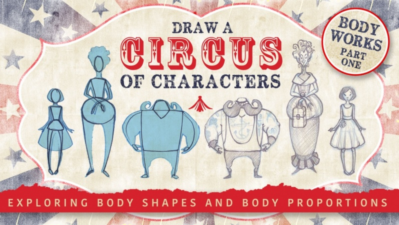 Draw a Circus of Characters IS NOW LIVE!