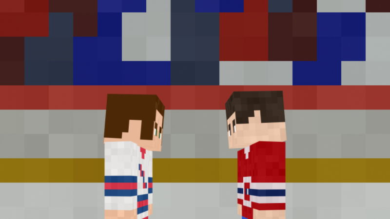 Low Poly Hockey Rival Animation