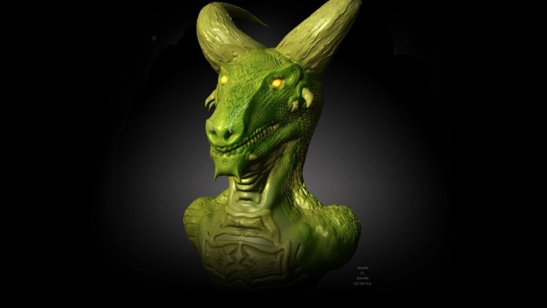 Dragon Bust