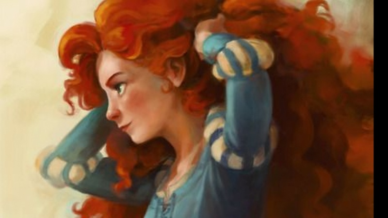 Elyscia - Character Study