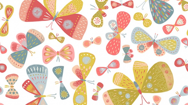 Sample Project: Ipad Art: Mix Your Apps: Make a technical repeat pattern with any painting app