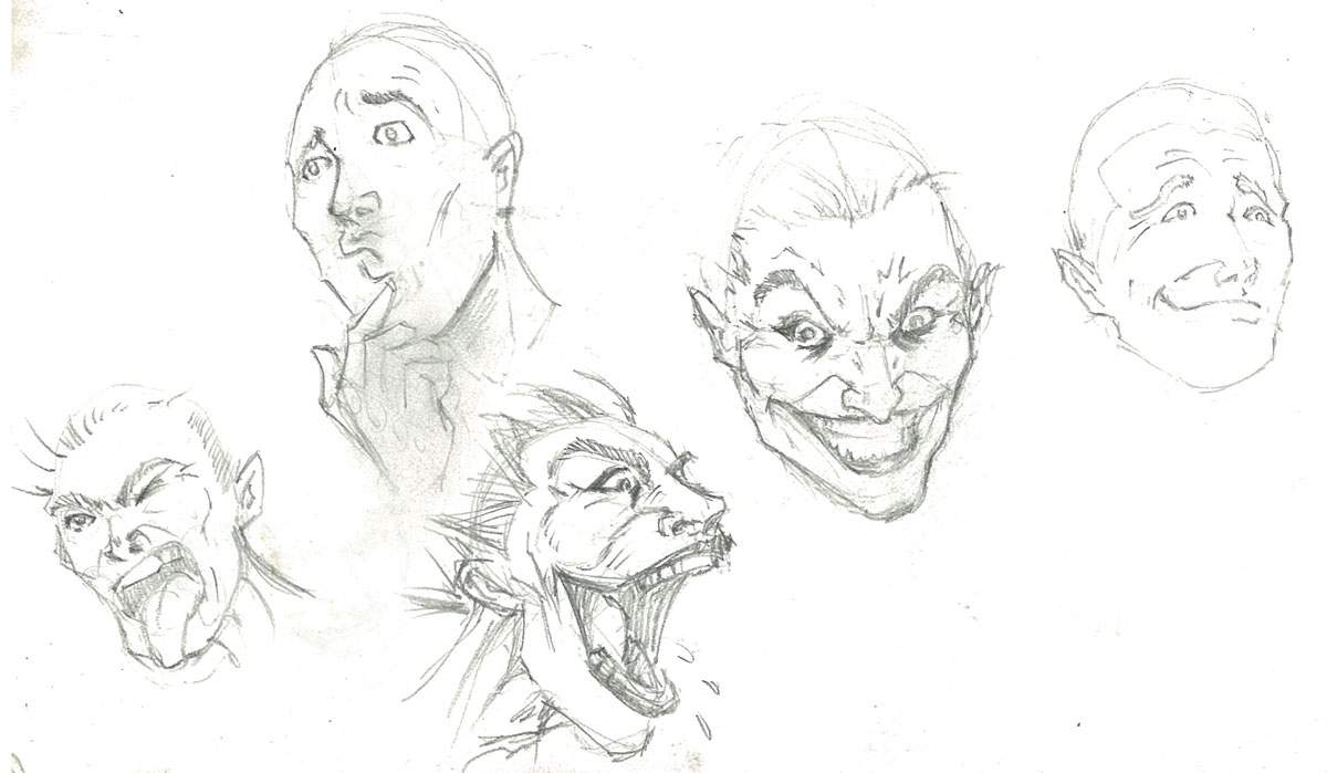 I Draw A Lot Of Joker Faces I Love Trying To Capture The Expression Of  Sinister And Maniacal And Yes, That's A Miley Cyrus Inspired Expression