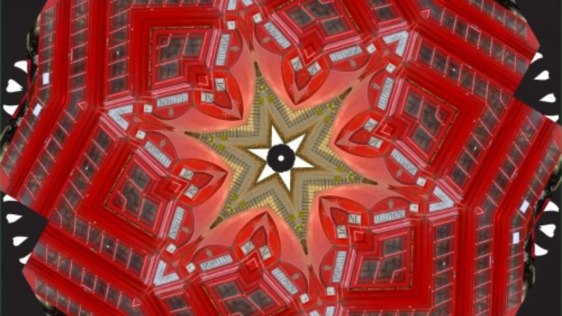 Real time Kaleidoscope Mandala