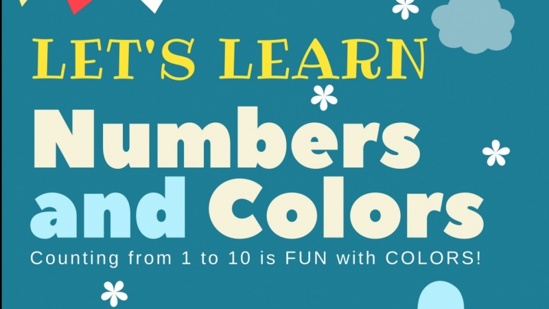 My First e-Book in KDP: Let's Learn Numbers and Colors