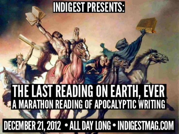 The Last Reading on Earth, Ever