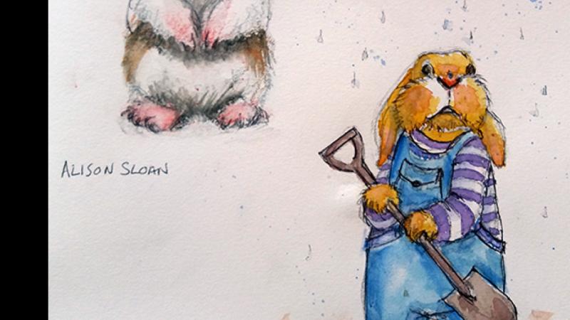drawing bunnies