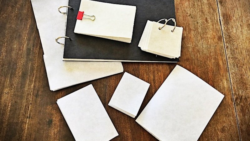 7 Different No Sew Sketchbooks I Created. Fun!