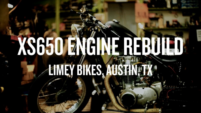 XS650 Engine  Rebuild