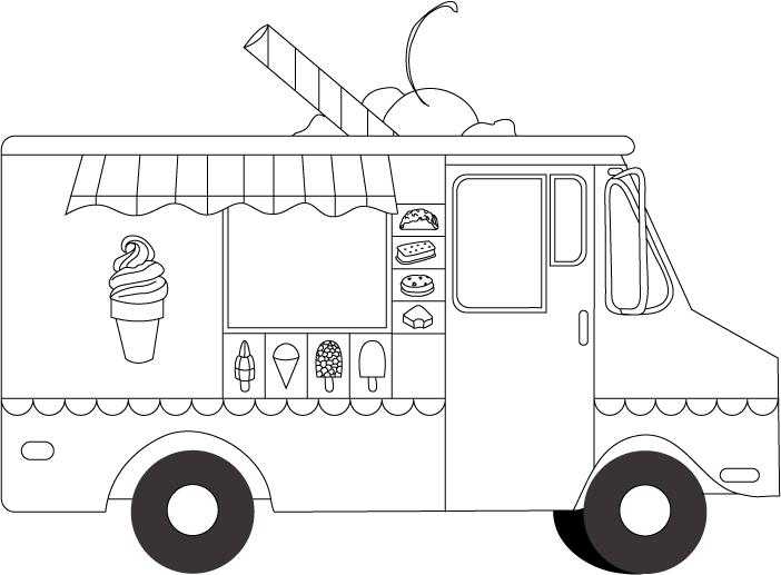 Ice Cream Truck - FINAL Skillshare Projects