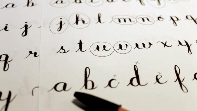Brush Lettering, baby steps