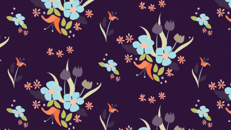 Floral Repeating Pattern