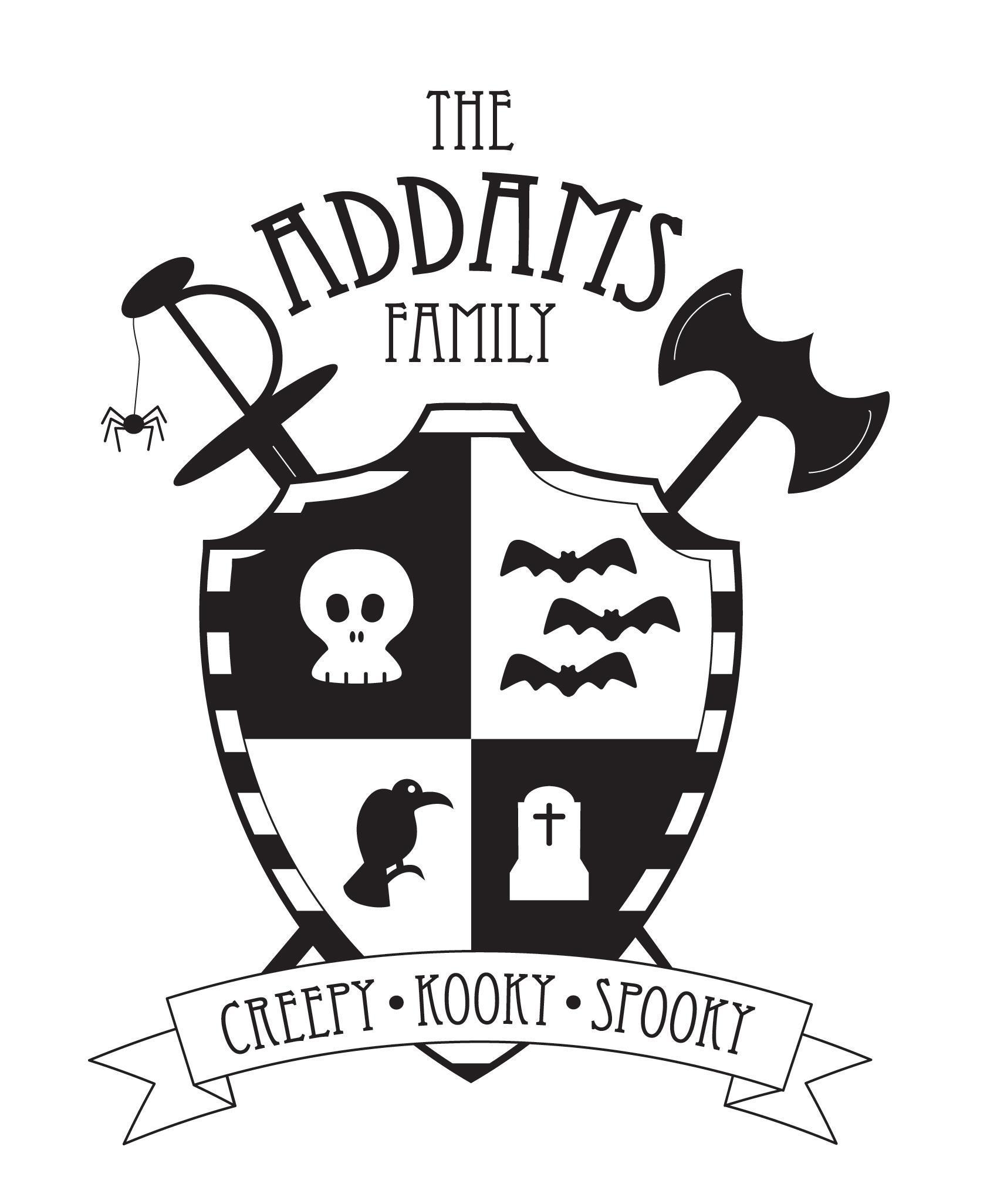 Addams family crest skillshare projects addams family crest buycottarizona