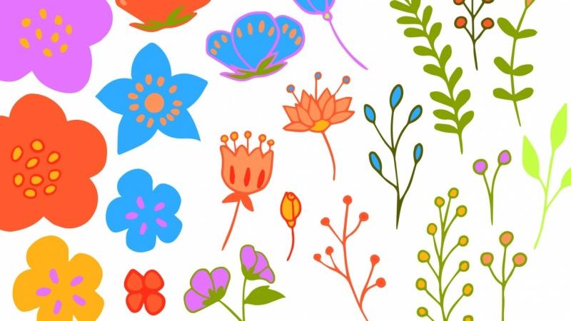 Hand-Drawn Series- Learning to Create Flower Bundles in Adobe Illustrator