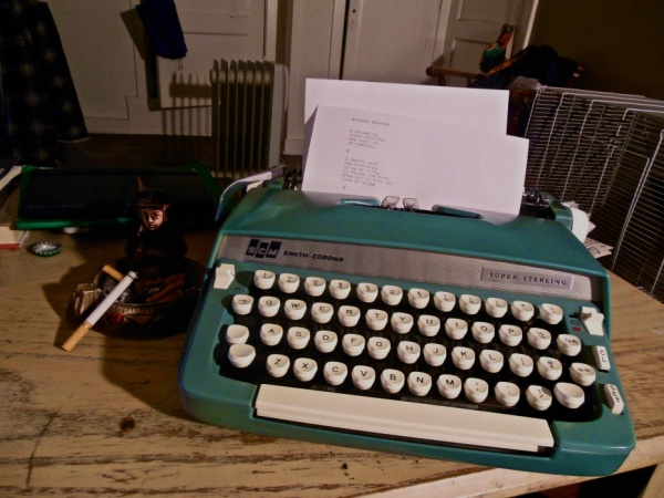 Up Late: A Typewriter in Love
