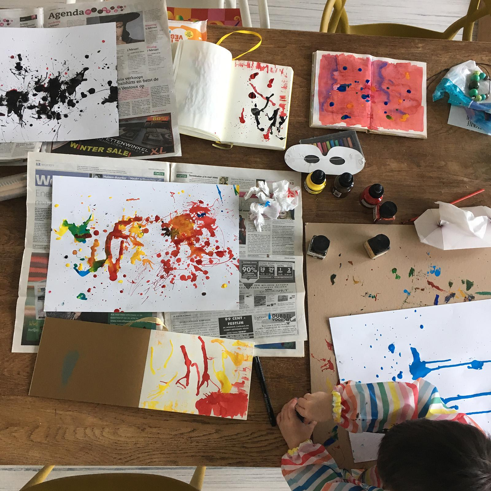 Rivkas 5 Days Of Sketchbook Magic Skillshare Projects