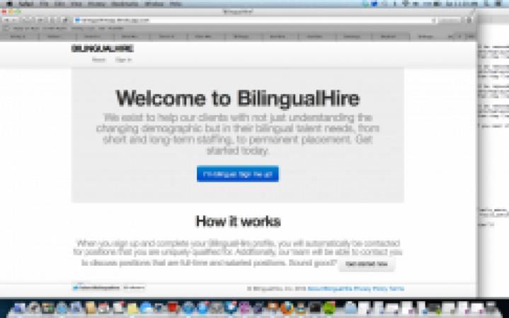BilingualHire App