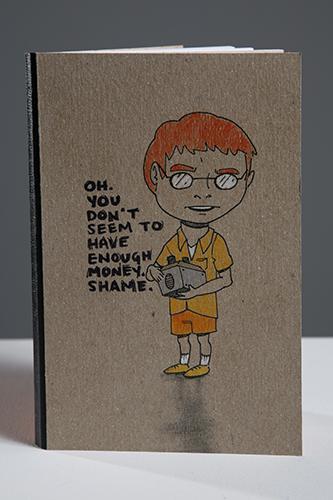 Orange Kid Notebook