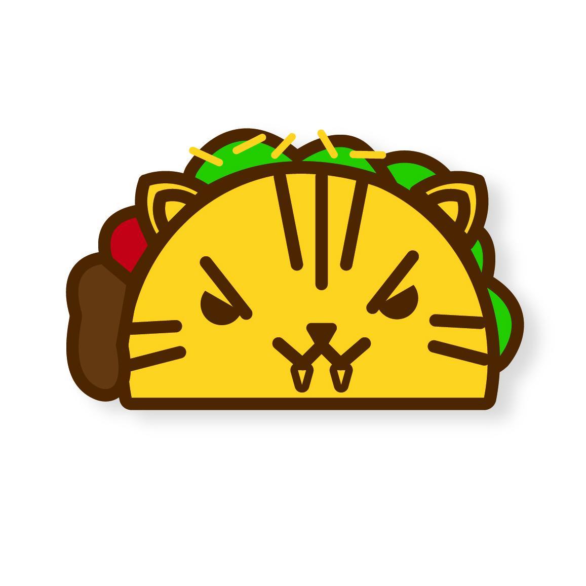 Tora the Tiger Taco Enamel Pin | Skillshare Projects