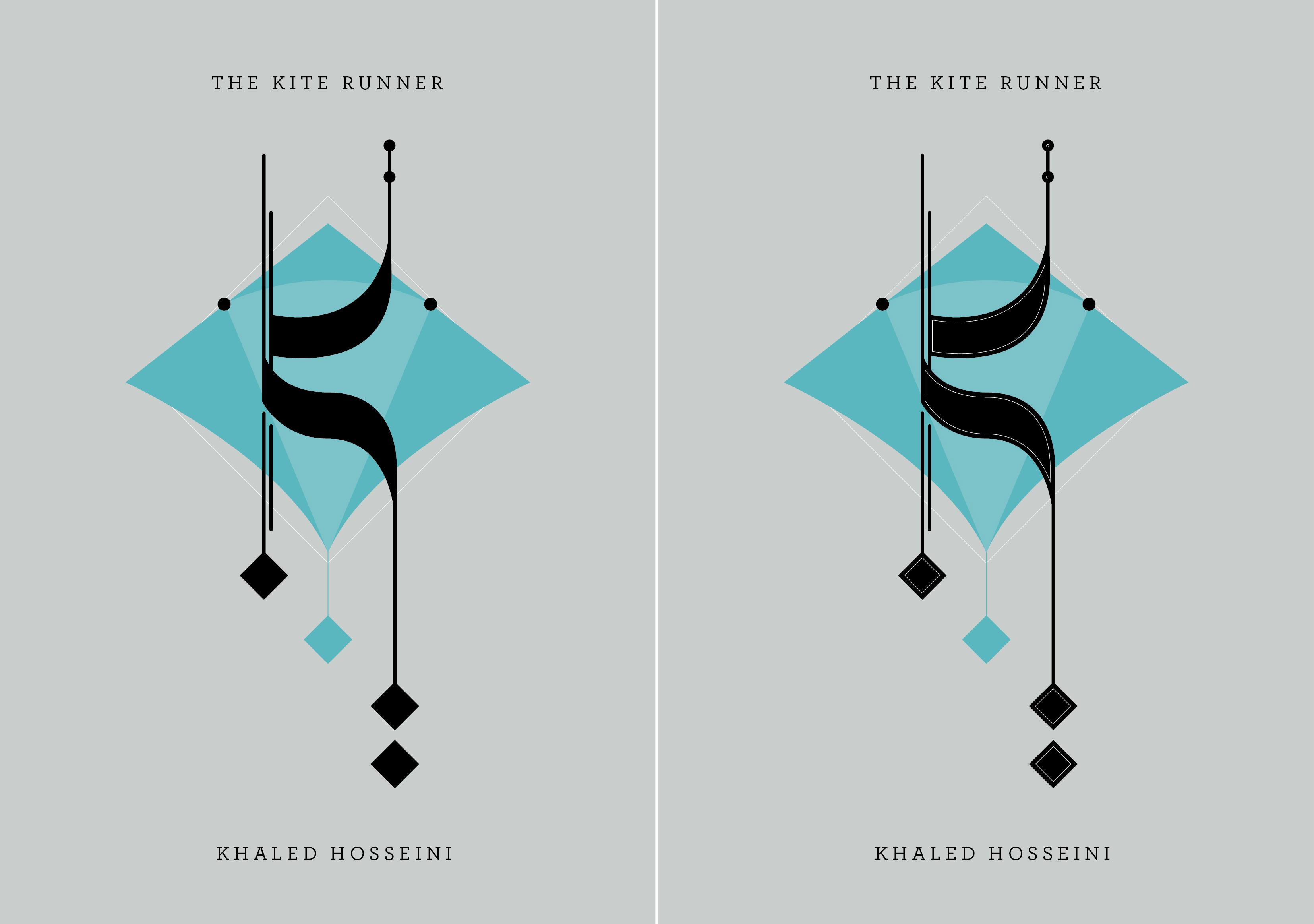 the kite runner by khaled hosseni projects i like the idea keeping a muted background highlights of brighter colour any feedback on which option looks best would be great