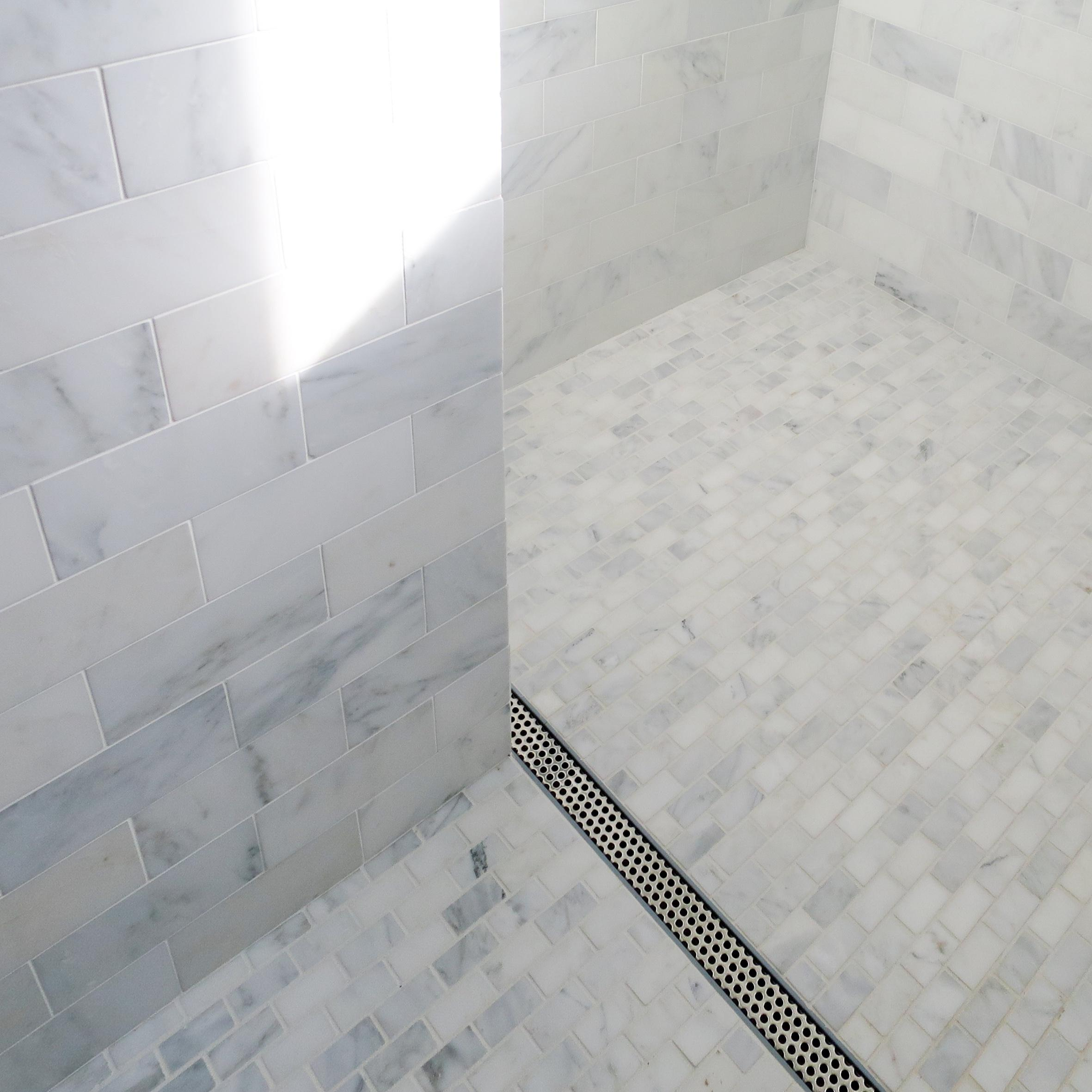 Linear Thinking: Shower Drain