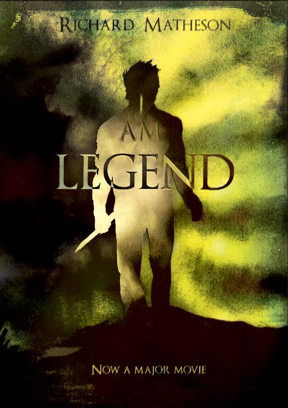 Image result for i am legend book cover