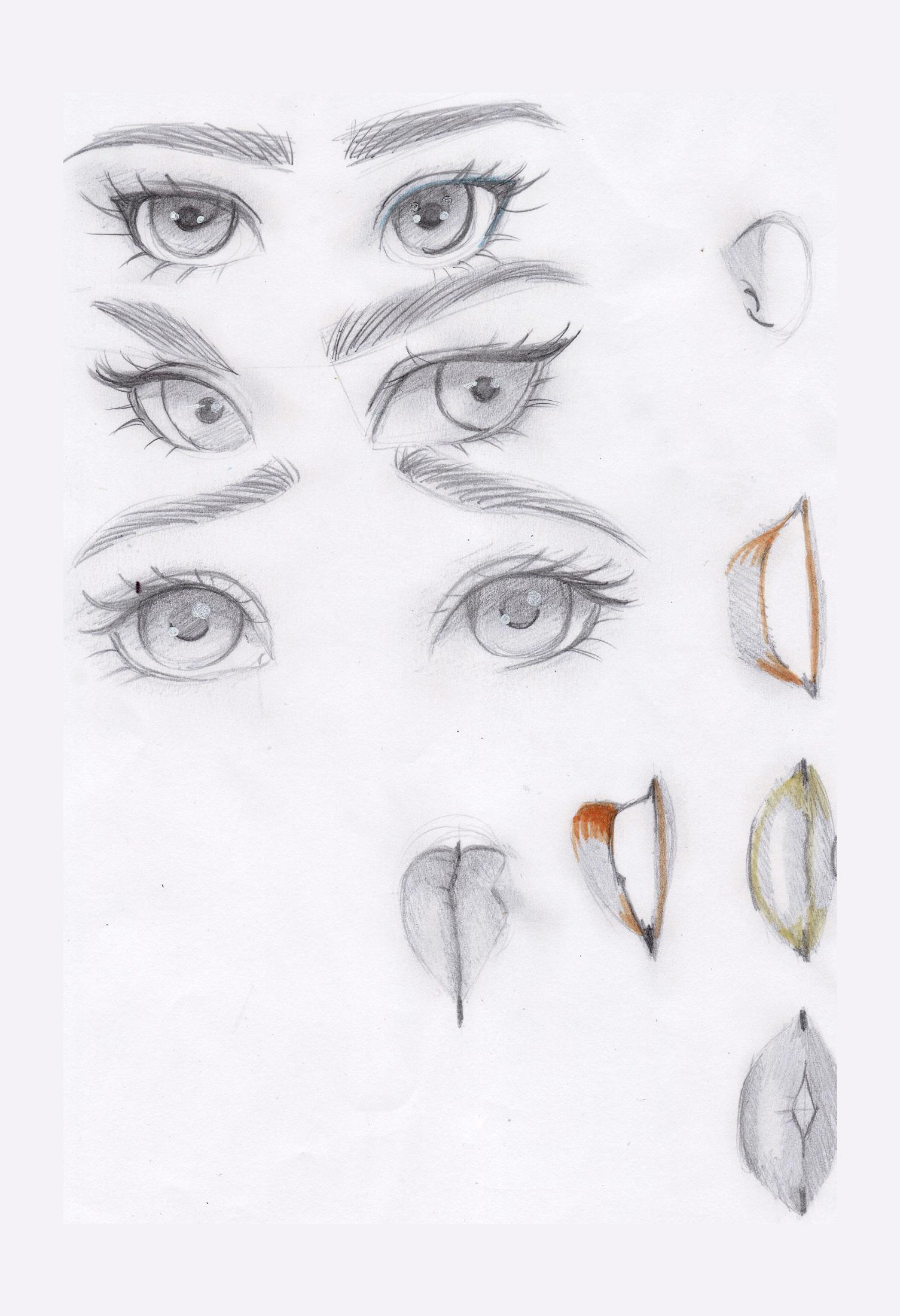 Girls sketches