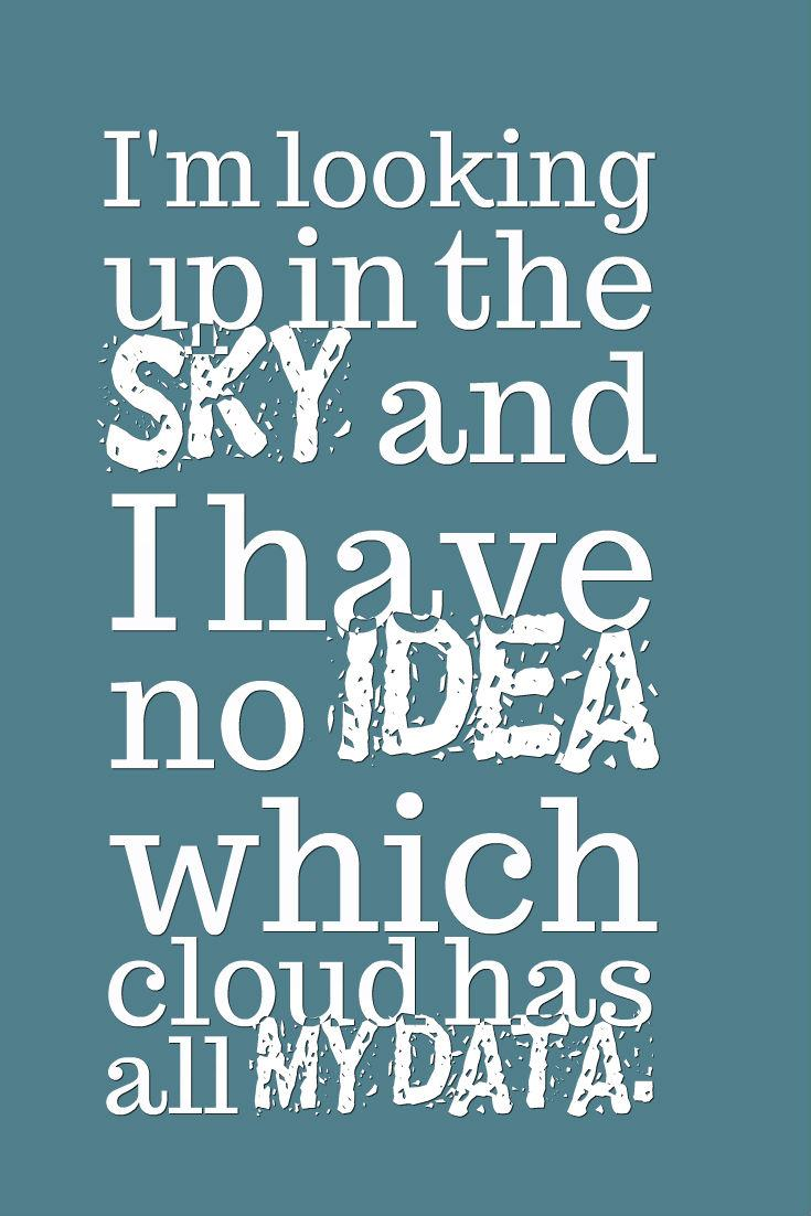Im Looking Up In The Sky Funny Quote Image Skillshare Projects