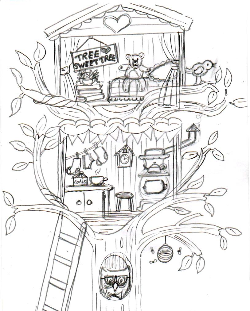 Another attempt at sketches drawing app this time with some more success for the bonfire theme i did sketch in good old fashioned pencil and paper first