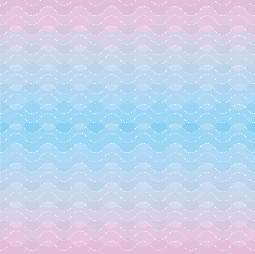 Ombre Design ombre wave pattern | skillshare projects