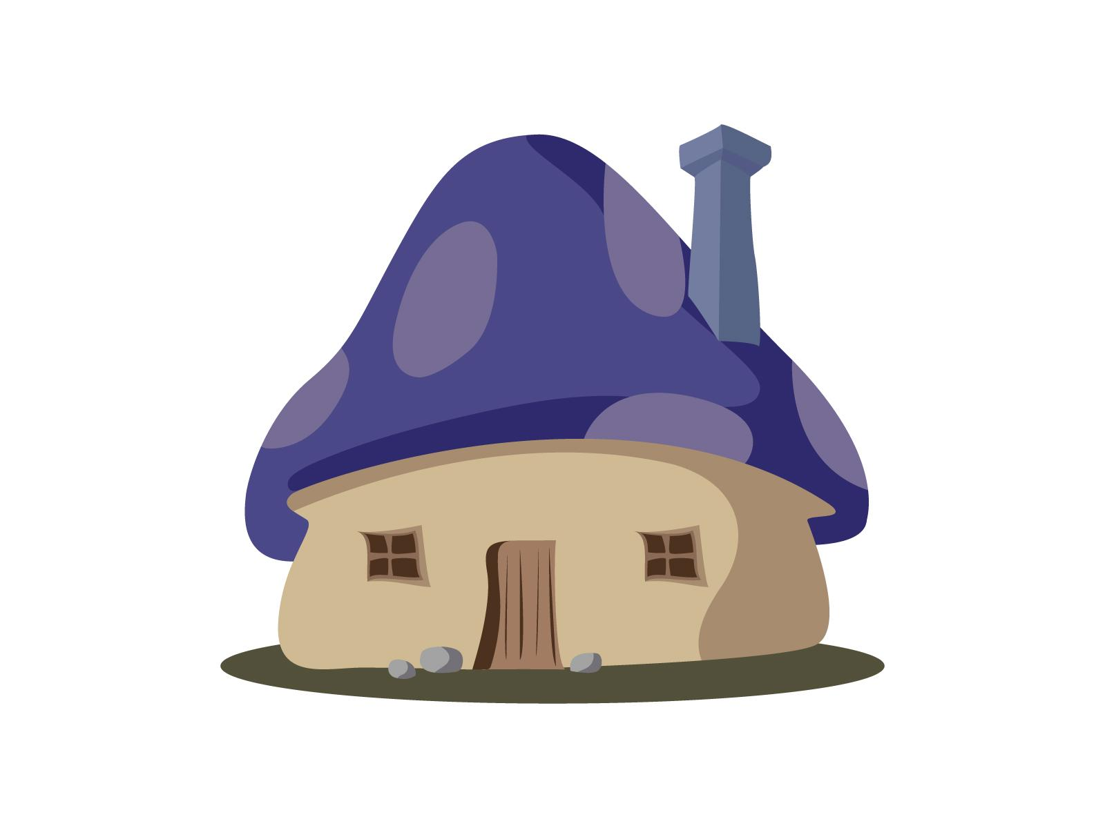 Smurf House | Skillshare Projects