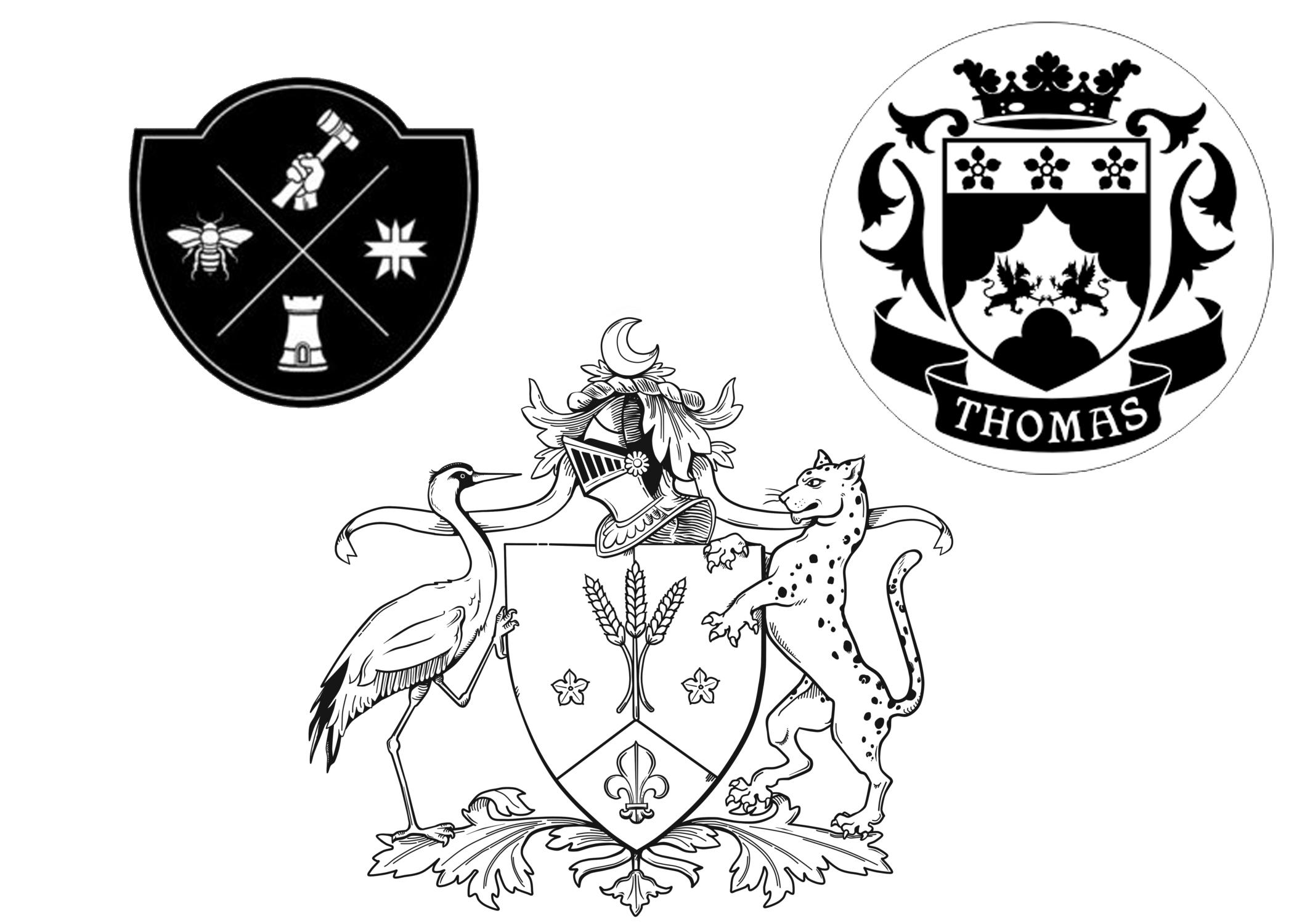 Youngblood family crest skillshare projects youngblood family crest abd7411a these were some of the crests i liked i decided to keep mine monocromatic as well and just kept these roughly in my buycottarizona Image collections