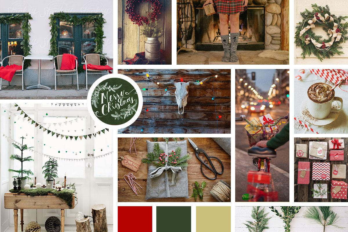 Christmas Mood Board | Skillshare Projects